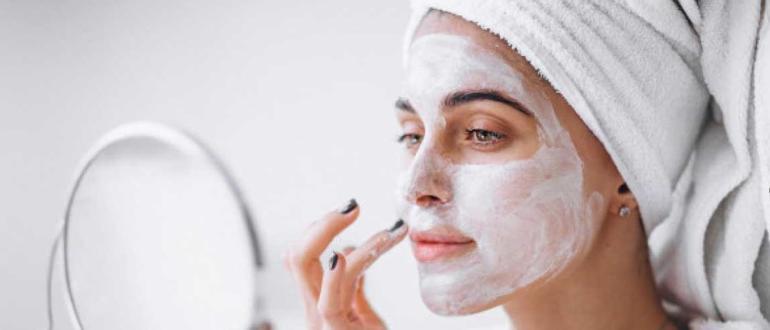 Домашние ночные маски для лица изображение